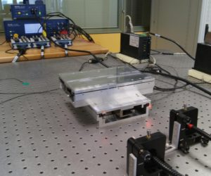 Design of an Modular  Nano Positioning System